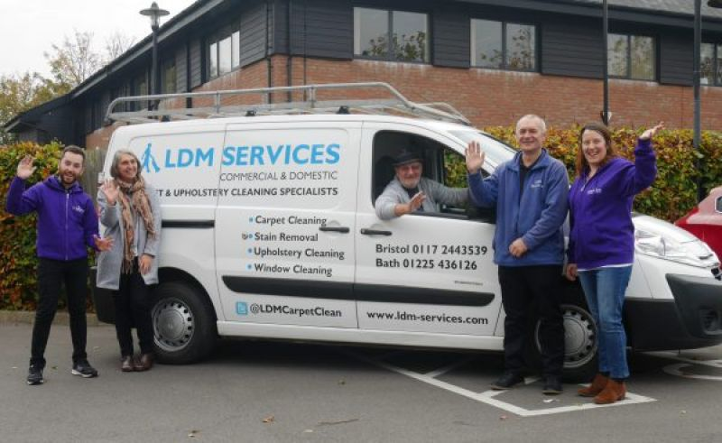 Guest blog: LDM Services' Christmas clean for cancer